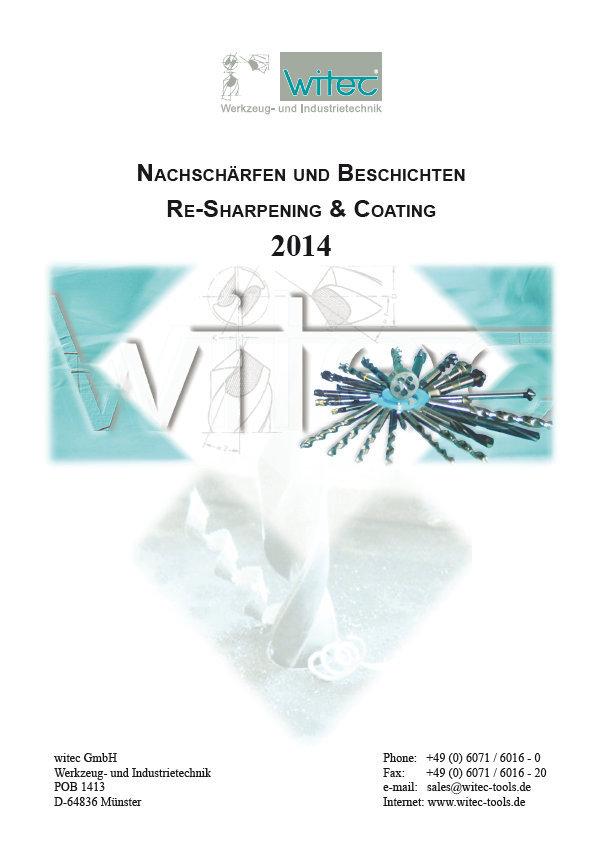 Preisliste Nachschaerfen und Beschichten 2014